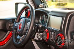 custom interior jeep wrangler - Google Search