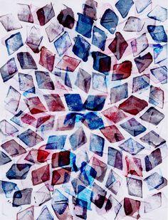 rhombus dance Art Print