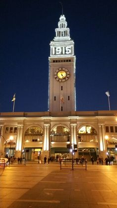 Ferry building in San Fransisco