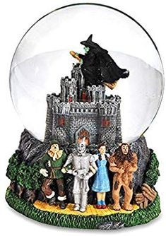 The San Francisco Music Box Company Wizard Of Oz Wicked Witch Castle Water Globe: Figurine by San Francisco Music box. It is new, never been out of the box Glinda The Good Witch, Wicked Witch, Witches Castle, Westland Giftware, Christmas Snow Globes, Christmas Ornaments, Box Company, Water Globes, Judy Garland