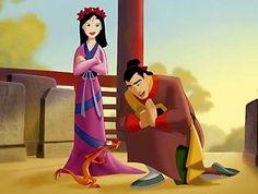 Mulan and Shang Disney Wiki, Disney And Dreamworks, Disney Pixar, Walt Disney, Disney Characters, Disney Family, Disney Girls, Disney Love, Romantic Couples