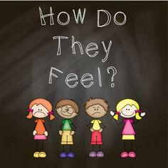 """How do they Feel?"" FREE printable book to help children identify their feelings"