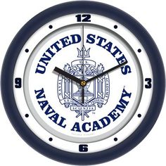 NCAA Naval Academy Midshipmen Traditional Wall Clock