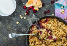 https://www.dollarphotoclub.com/stock-photo/Apple and cranberry crumble/74338940 Dollar Photo Club millions of stock images for $1 each