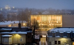 Image 1 of 31 from gallery of Turku City Library / JKMM Architects. City Library, Library Design, Library Architecture, Modern Architecture, Old Libraries, Library Inspiration, Commercial Architecture, Brick Building, Environmental Design