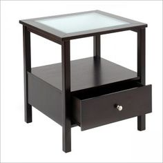 end tables glass top