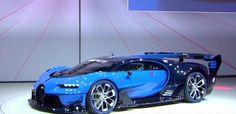 Hypercar Bugatti Chiron Vision GT 2016