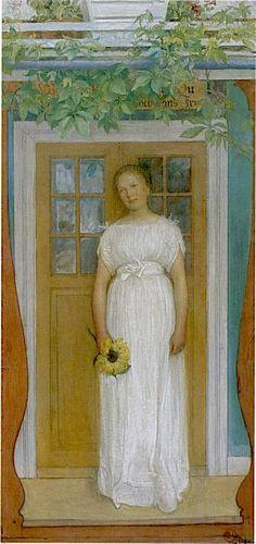 Carl Larsson -    Sjutton år 1902