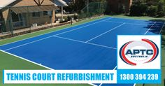 Rejuvenation of 30 year old asphalt tennis court in Coolum, Queensland Australia. APTC Australia managed this tennis court refurbishment project from start to finish with one of our approved applicators using Casali Polysport. Read More! #TennisCourtRefurbishment