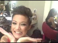 The Saturdays Mailer - Frankie Discusses Hair - YouTube