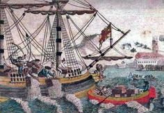 Fast, fun facts about the Boston Tea Party. History and interesting facts about the Boston Tea Party. Facts and information about the Boston Tea Party Us History, American History, American War, American Indians, American Food, Early American, Family History, Boston Tea, American Independence