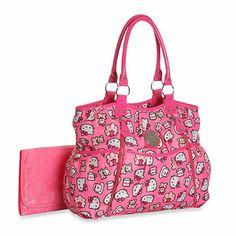 822dca14b6 Hello Kitty® Print Fashion Tote Diaper Bag - buybuyBaby.com Hello Kitty  Diaper Bag