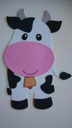 10 Bartolinho A Fazenda Do Zenon Ideas Farm Animal Crafts, Farm Crafts, Animal Crafts For Kids, Preschool Crafts, Farm Animal Birthday, Farm Birthday, Birthday Parties, Barnyard Animals, Felt Animals