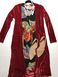 LuLaRoe outfit, LuLaRoe Flat lay, LuLaRoe Noir, LuLaRoe Amelia, LuLaRoe Sarah, velvet Sarah, floral, dress with pockets,