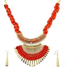 AMAZING KNOTED NECKLACE  BRAND FASHIONERA PRICE - 499.00 http://jackjewels.in/Product/2356/amazing-knoted-necklace