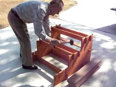 DIY Simple Portable RV Stairs