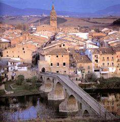 Puente La Reina, Navarra - Spain along the Camino de Santiago