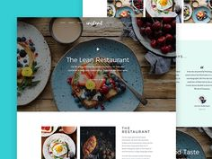 Free HTML5 Restaurant Theme - Recommended by Creative Sofa