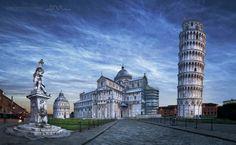 La torre di Pisa by Daniel Metz on 500px