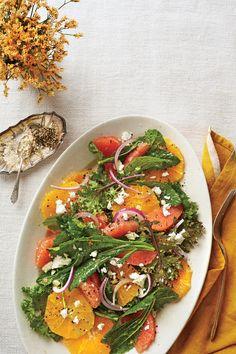 Our Best Gluten-Free Thanksgiving Recipes: Citrus-Kale Salad