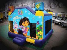 Bounce Dora Rental info@taylorrentalpartyplusct.com