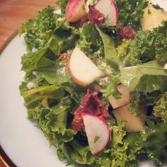 Shada's Kale Salad  @The Paleo Prize