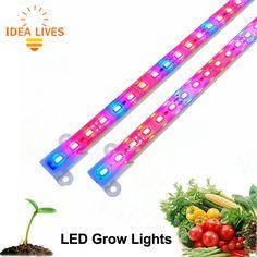 LED Grow Light DC12V IP68 Waterproof 5630 LED Bar Light for Aquarium Greenhouse Plant Growing 5pcs/lot