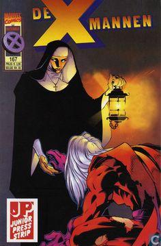 Strips - X-Men - De X mannen 167