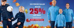 Bis zu 25% Rabatt auf bereits reduzierte Artikel bei Jako - z.B. Trainingsanzug Player für 22€