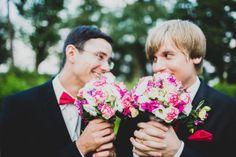 Hochzeitsfotos aus Potsdam: Doppelhochzeit - Hochzeitsreportage mit 2 Pärchen!