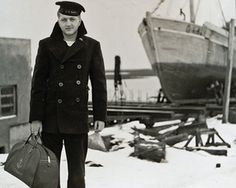 A Brief History of the Pea Coat-these are so in fashion now a days why not examine the history of how they came to be.