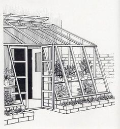 Attached Greenhouse Plans   Free DIY Solar Greenhouse Plans