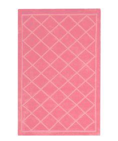 Princess Diamond Light Pink Area Rug
