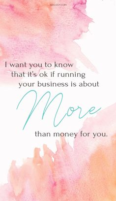 It's ok if your business means more to you than just the numbers. Helping people is important, but never forget that you deserve to make an income for your services. It can be easy to get lost in the business as an entrepreneur but never forget just how important it is to tell your audience exactly what they need to hear. #motivation #quote #entrepreneur - Entrepreneur Quotes, Entrepreneur Inspiration, Business Women, Women in Business, Women Entrepreneurs Quotes, Personal Growth and…