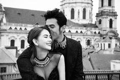 Taiwanese musician Jay Chou marries in a secret romantic wedding