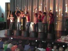 Schoolfeest 2009: L5+L6 Percussie Bucket Drumming, Choir, Drums, Acting, Sport, Concert, Youtube, Kids, Musicals