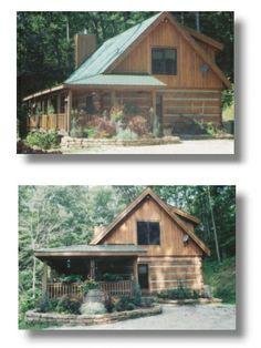 Antler log cabins indiana