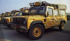 Camel Trophy. Sorry about your Defender, mate!