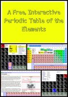 An Interactive, Free Periodic Table of the Elements - Freely Educate - SUPER COOL!!! I might have actually liked chemistry if we would have had this....
