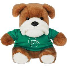 "6"" Bulldog Mascot via www.schoolspiritstore.com"