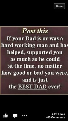 This is my daddy's right here... I love you daddy and daddy dave. <3