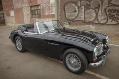 1966 Austin Healey 3000 Mk III - Memories of childhood, top down on a sunny February day.