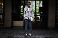 Street Style: Funfere Koroye in Givenchy, New Balance & Topman • Highsnobiety