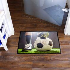 banjado Türvorleger mit Fußballmotiv #Fußmatte #Türvorleger #Fußball  #EM