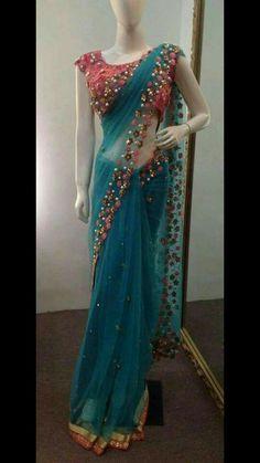 New Wedding Indian Dress Bridal Lehenga Ux Ui Designer 19 Ideas Saree Designs Party Wear, Party Wear Sarees, Saree Blouse Patterns, Saree Blouse Designs, Sari Blouse, Indian Designer Outfits, Designer Dresses, Designer Sarees, Indian Dresses