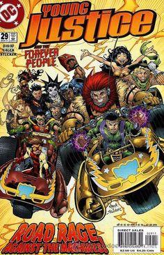 YOUNG JUSTICE #29, DC COMICS, 2.001, USA