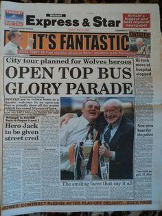 Open top bus glory parade