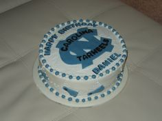 North Carolina Tar Heels Birthday Cake on Cake Central