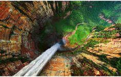 Dragon Falls, Venezuela (from above)