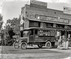 """Washington, D.C., circa 1924. """"Ford Motor Co. -- Fred Haas, Rhode Island Avenue N.E."""""""